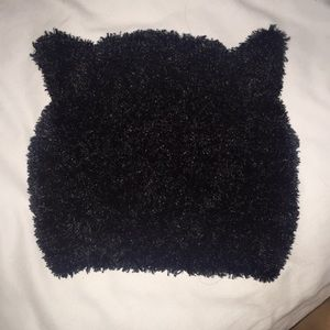 Fuzzy cat ears hat